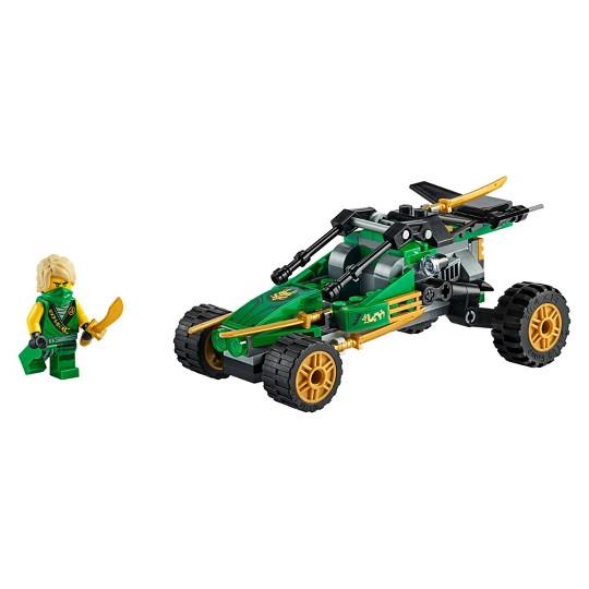 LEGO NINJAGO Legacy Jungle Raider 71700 Building Kit image number null