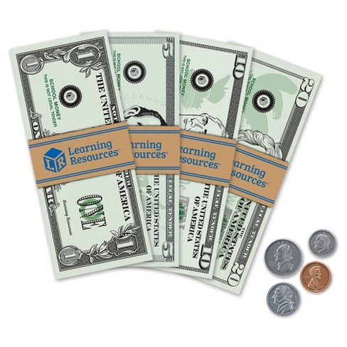 Learning Resources Pretend Play Money Target