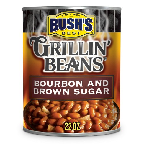 Bush's Gluten Free and Vegetarian Bourbon and Brown Sugar Grillin' Beans - 22oz - image 1 of 4