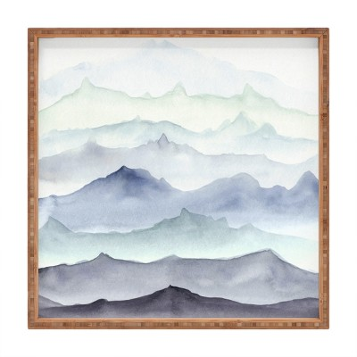 Wonder Forest Mountain Mist Tray (16 )- Deny Designs