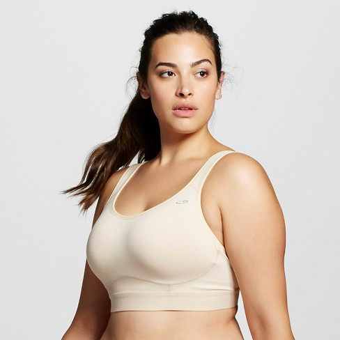 Women's Plus-Size MAX Support Power Core® Compression Racerback Sports Bra - C9 Champion® - image 1 of 2