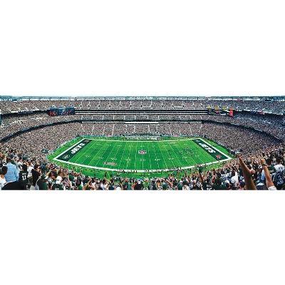 MasterPieces Inc New York Jets Stadium NFL 1000 Piece Panoramic Jigsaw Puzzle