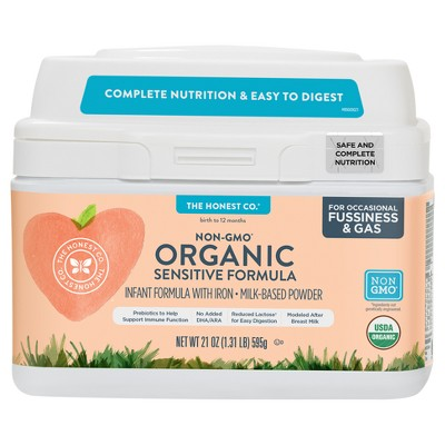 Honest Company Sensitive Organic Infant Formula - 21oz