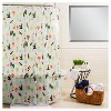 Plants Shower Curtain Green - Room Essentials™ - image 3 of 3