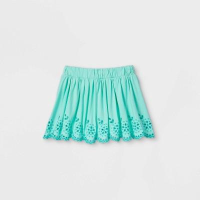 Girls' Eyelet Skirt - Cat & Jack™