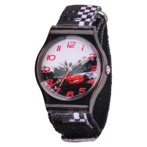 Kid's Disney® Cars Watch - Black - image 1 of 1