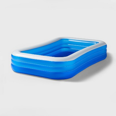 """10' X 22"""" Deluxe Rectangular Family Inflatable Above Ground Pool - Sun Squad™"""