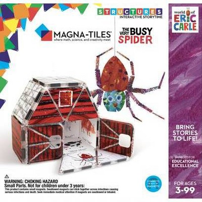 Magna-Tiles Eric Carle The Very Busy Spider