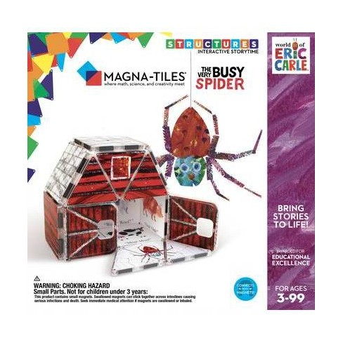Magna-Tiles Eric Carle The Very Busy Spider - image 1 of 4