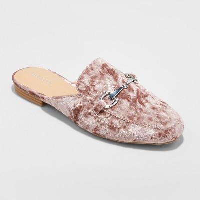 d7caca8224c Womens Kona Backless Mule Loafers – Merona™ Pink 6.5 – Target ...