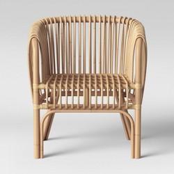 Admirable Avocet Rattan Fan Back Accent Chair Opalhouse Target Lamtechconsult Wood Chair Design Ideas Lamtechconsultcom