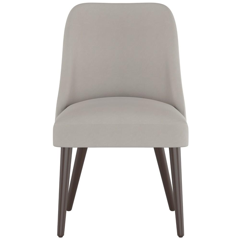 Geller Modern Dining Chair Medium Gray Velvet Project 62 8482