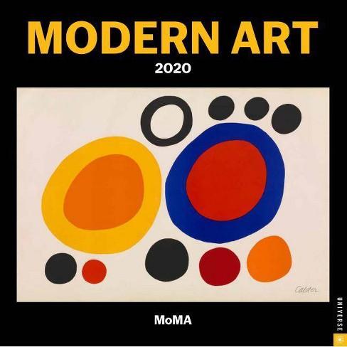 Modern Art 2020 Wall Calendar - by  The Museum of Modern Art - image 1 of 1