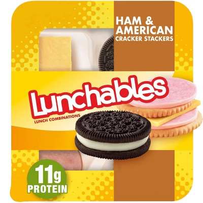 Oscar Mayer Lunchables Ham + American Cracker Stackers - 3.4oz