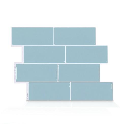 Smart Tiles Metro Babe Tile Wallpaper Light Blue Target