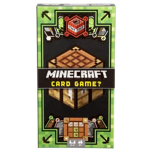Minecraft Card Game Target - Minecraft spiele mit tnt