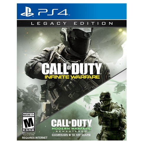 Call of Duty: Infinite Warfare Legacy Edition & Modern Warfare Remastered - PlayStation 4 - image 1 of 11