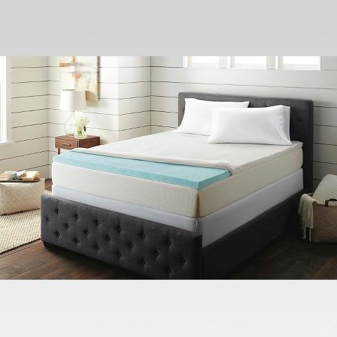 threshold memory foam mattress topper 2