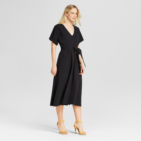 c419905a9cc0 Women s Knit Midi Dress With Pockets - Who What Wear™   Target