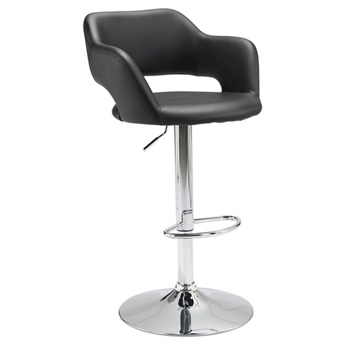 Modern Faux Leather Adjustable 25 Bar Chair Zm Target