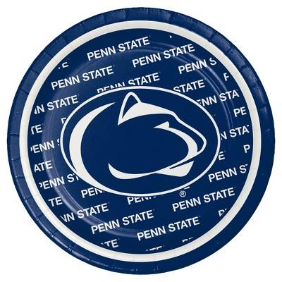 "8ct Penn State University 7"" Dessert Plates - NCAA"