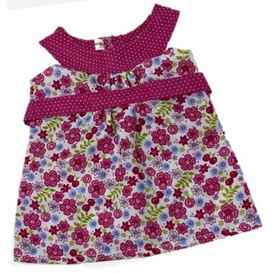 Doll Clothes Superstore Raspberry Sundress Fits Baby Dolls