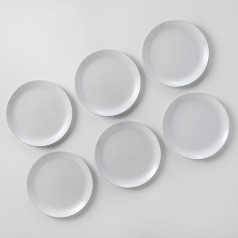 glass dinner plate 10 7 white made by design target