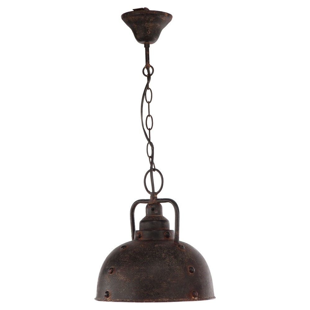 A&b Home Industrial Pendant Lamp - Brown