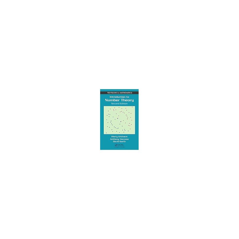 Introduction to Number Theory (Revised) (Hardcover) (Marty Erickson & Anthony Vazzana & David Garth)