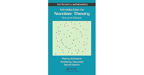 Introduction to Number Theory (Revised) (Hardcover) (Marty Erickson & Anthony Vazzana & David Garth) - image 1 of 1