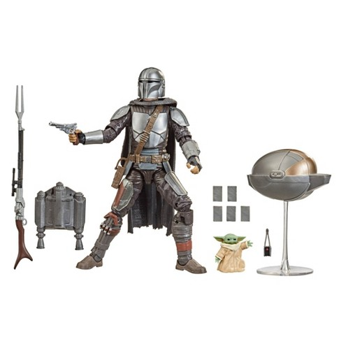 Star Wars The Black Series Din Djarin (The Mandalorian) and The Child - image 1 of 4