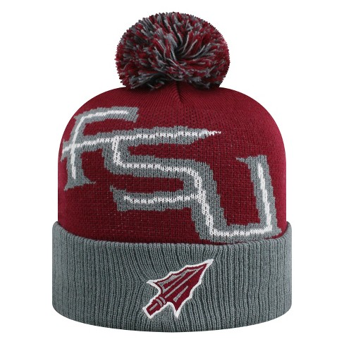 NCAA Florida State Seminoles Pom Knit Hat - image 1 of 2
