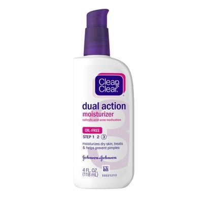 Facial Moisturizer: Clean & Clear Dual Action Moisturizer
