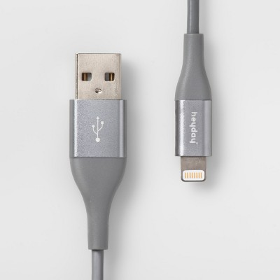 heyday™ 4' Lightning to USB-A Round Cable