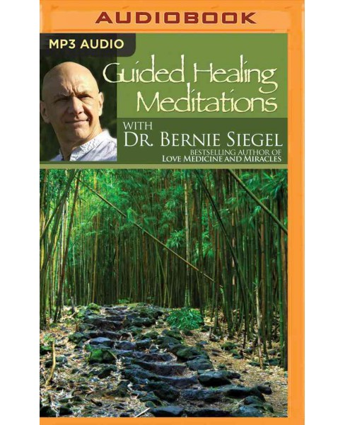 Guided Healing Meditations (MP3-CD) (Bernie Siegel) - image 1 of 1