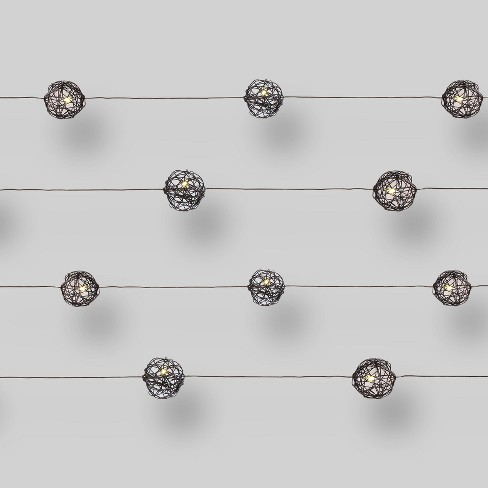 20ct LED Microdot Lights Wire Orbs - Clear Bulbs - Threshold™ - image 1 of 1