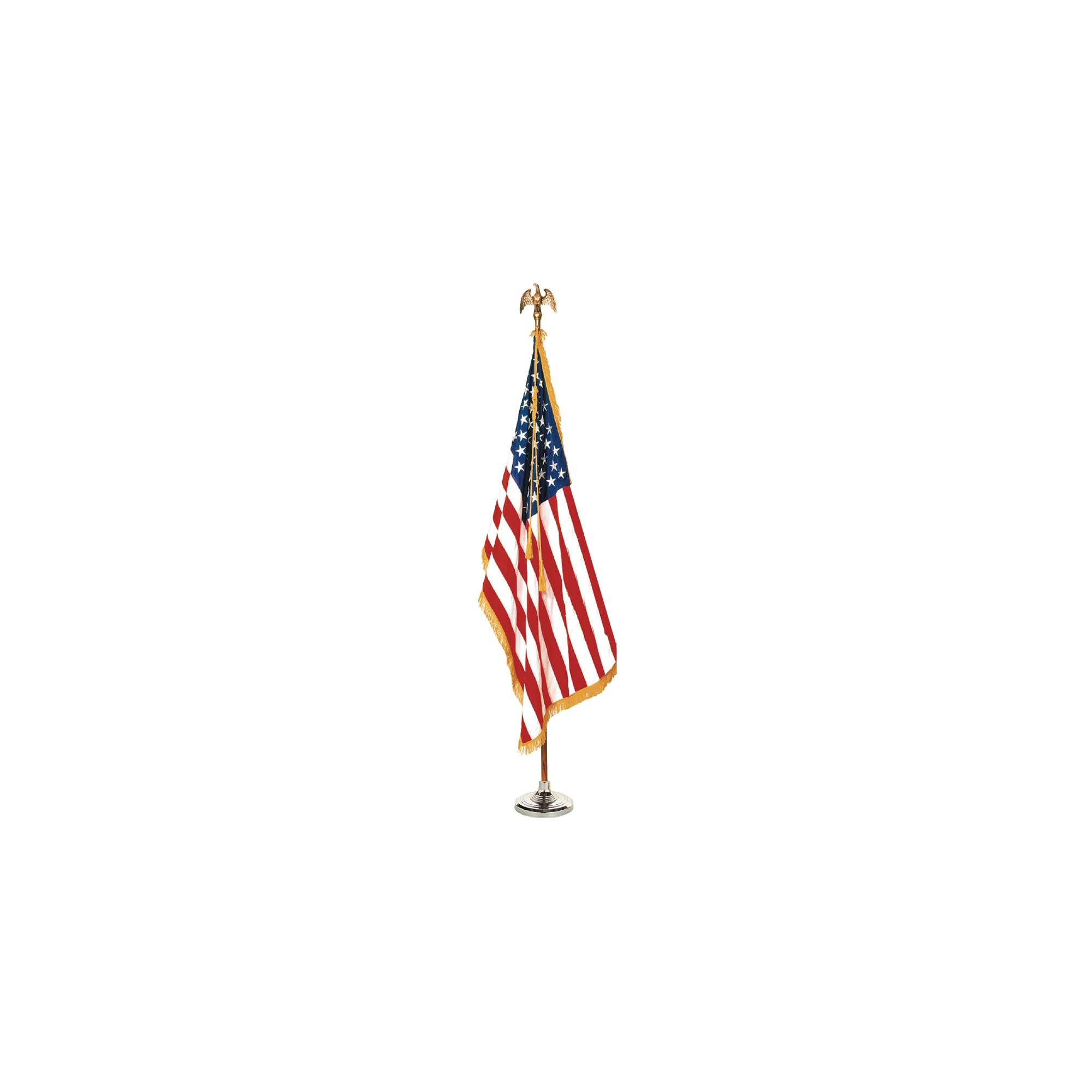 Halloween Colonial Nyl-Glo US Flag Set - 5' x 8'