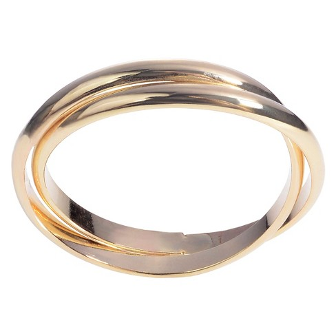 Women's Journee Collection Handmade Double Rolling Ring Band in Sterling Silver - image 1 of 3