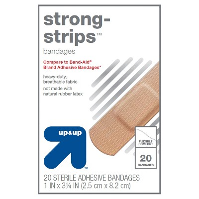 Bandages & Gauze: up & up Strong-Strips