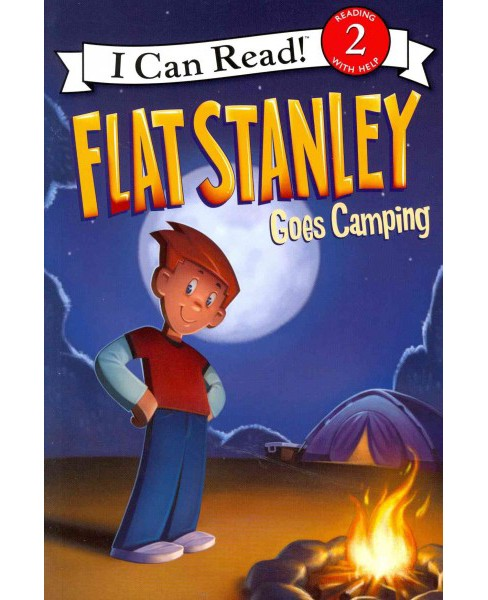 Flat Stanley Goes Camping (Paperback) - image 1 of 1