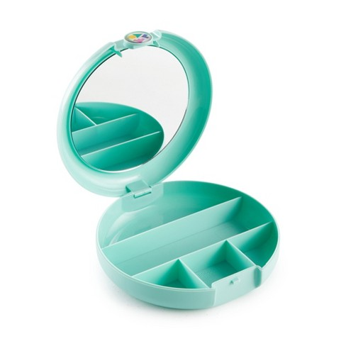 Retro Caboodles Cosmetic Compact- Seafoam - image 1 of 3