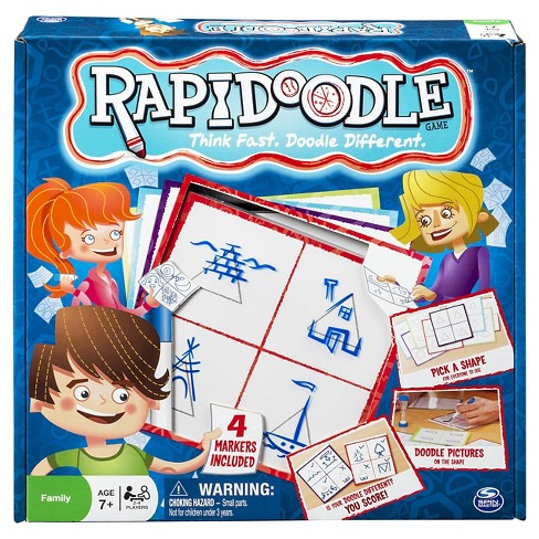 Rapidoodle Board Game - image 1 of 4