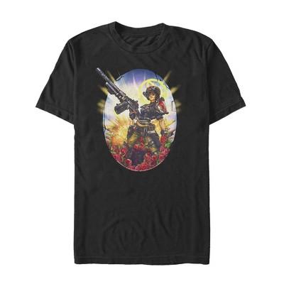 Men's Borderlands 3 Floral Moze T-Shirt