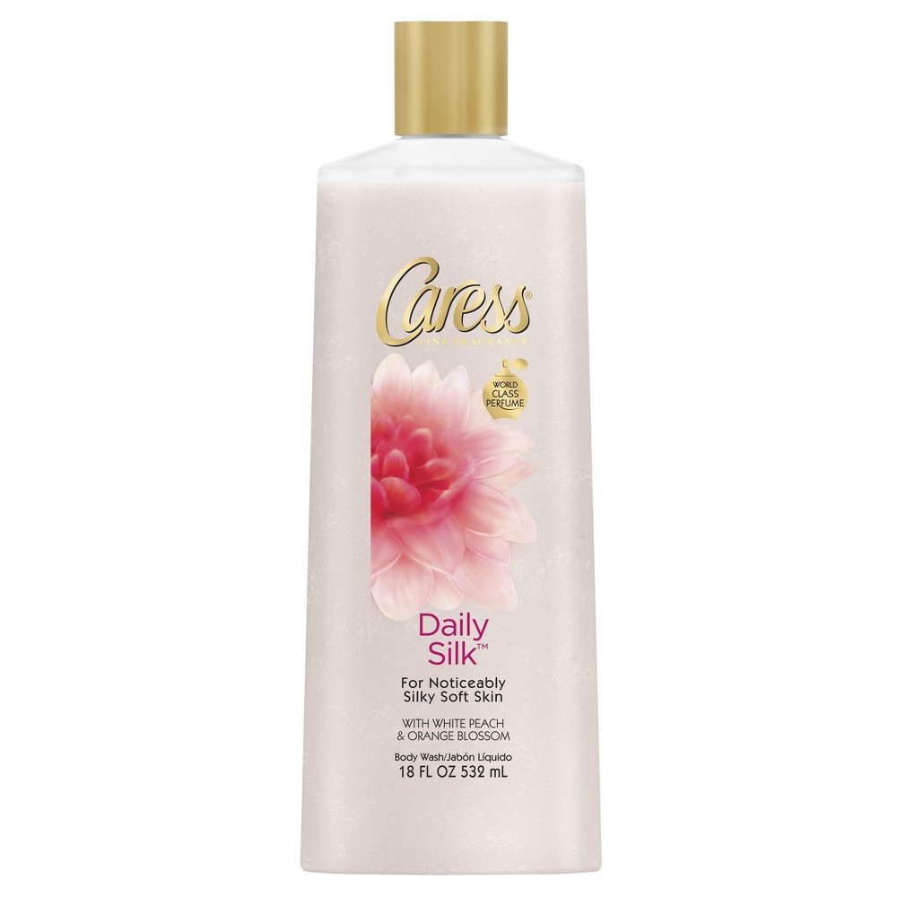 Image of Caress Daily Silk Body Wash - 18oz