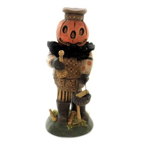"Charles Mcclenning 8.0"" Candlestick Maker Halloween Pumpkin  -  Decorative Figurines - image 1 of 3"