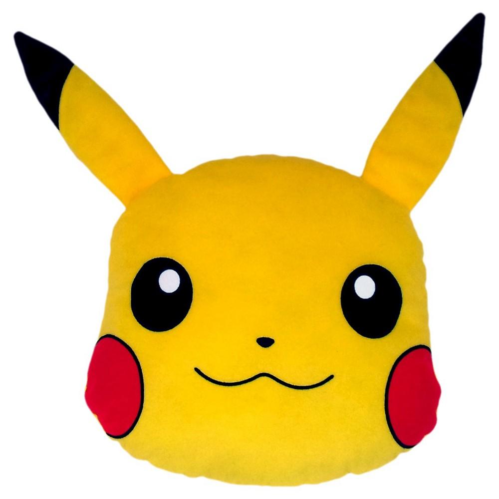 Pokémon Pikachu Throw Pillow - Yellow (12), Multi-Colored