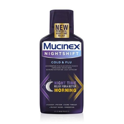 Cold & Flu: Mucinex Nightshift Cold & Flu Liquid