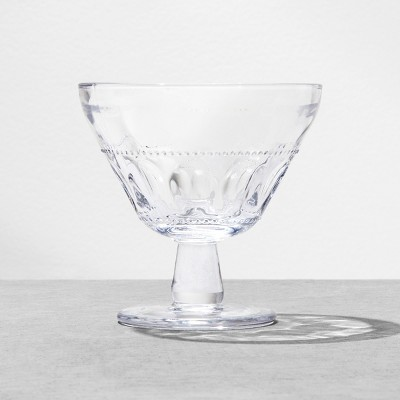 Dessert Bowl Glass Clear - Hearth & Hand™ with Magnolia