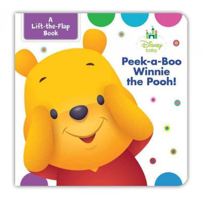 Disney Baby Peek-a-Boo Winnie the Pooh (Hardcover)(Marcy Kelman)