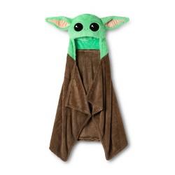 Star Wars: The Mandalorian The Child Hooded Blanket